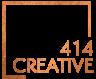 414 Creative Gold Logo